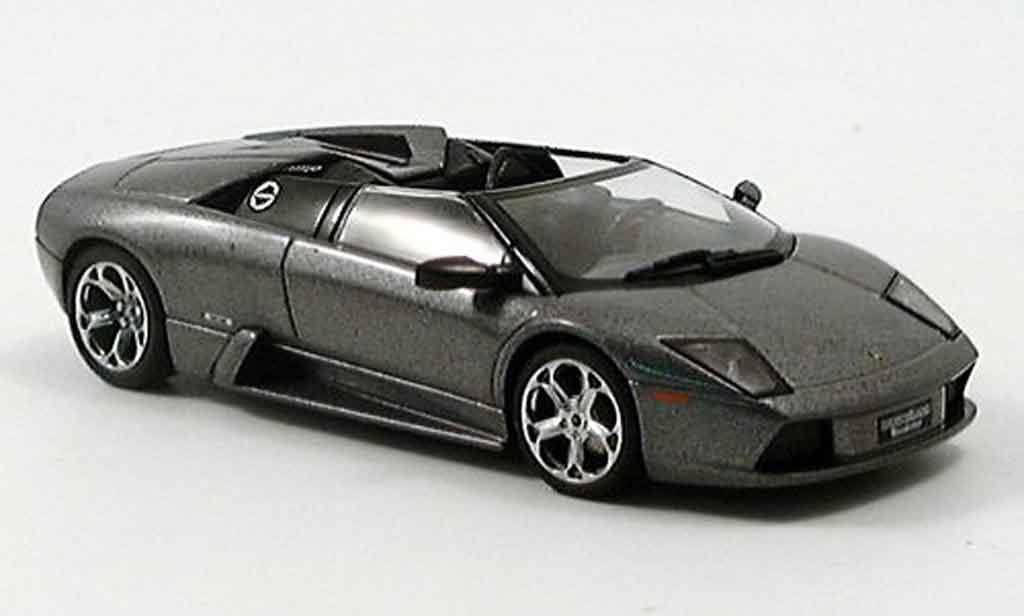 Lamborghini Murcielago Roadster 1/43 Autoart grise 2005 miniature