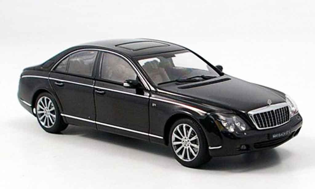 Maybach 57 1/43 Autoart S noire 2005 miniature