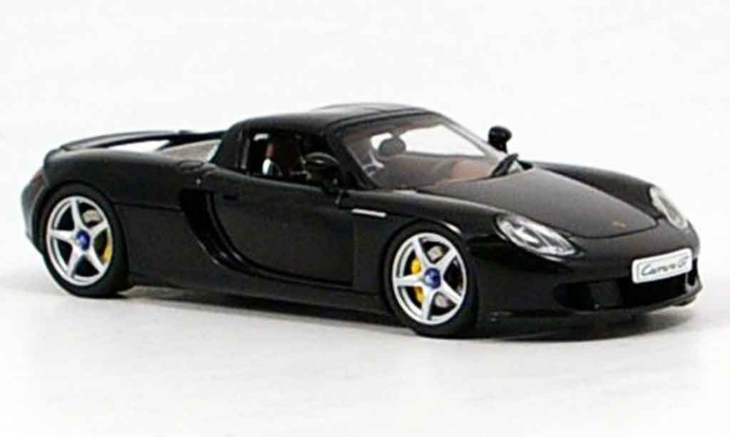 Porsche Carrera GT 1/43 Autoart noire 2005 miniature