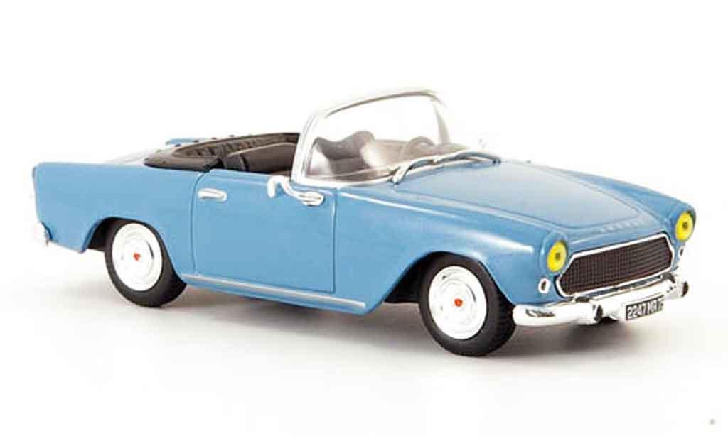 Simca Oceane 1/43 Norev cabrio  bleu 1956 miniature