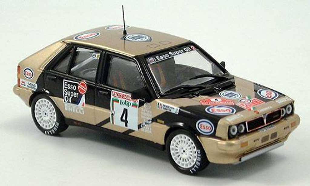 Lancia Delta HF Integrale 1/43 IXO HF Integrale Esso No. 4 1987 miniature