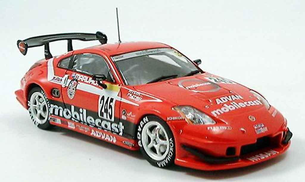 Nissan 350Z 1/43 Ebbro JGTC Fairlady Super Taikya Mobilecast 2004 miniature