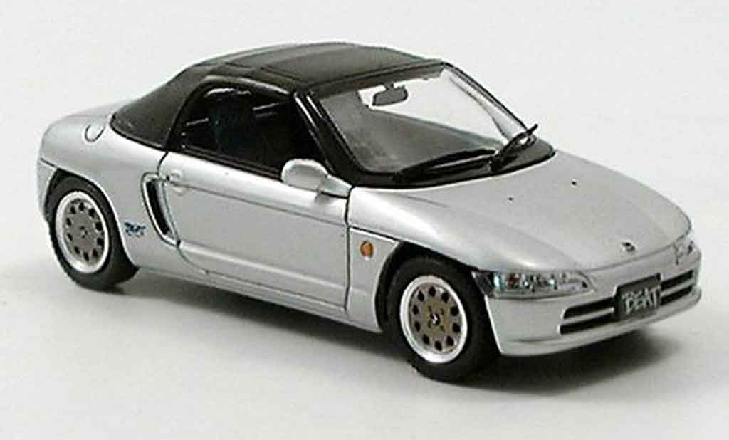 Honda Beat 1/43 Ebbro grey metallisee 1991 diecast model cars