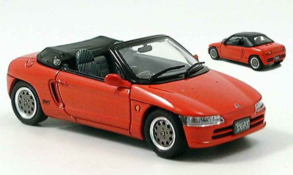 Honda Beat 1/43 Ebbro red 1991 diecast model cars
