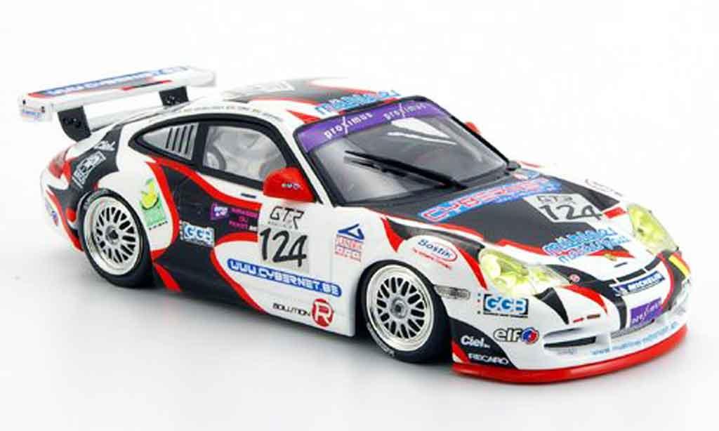 Porsche 996 GT3 1/43 Minichamps Cup Vanbellingen Fumal Geoffroy 24h Spa 2005 miniature