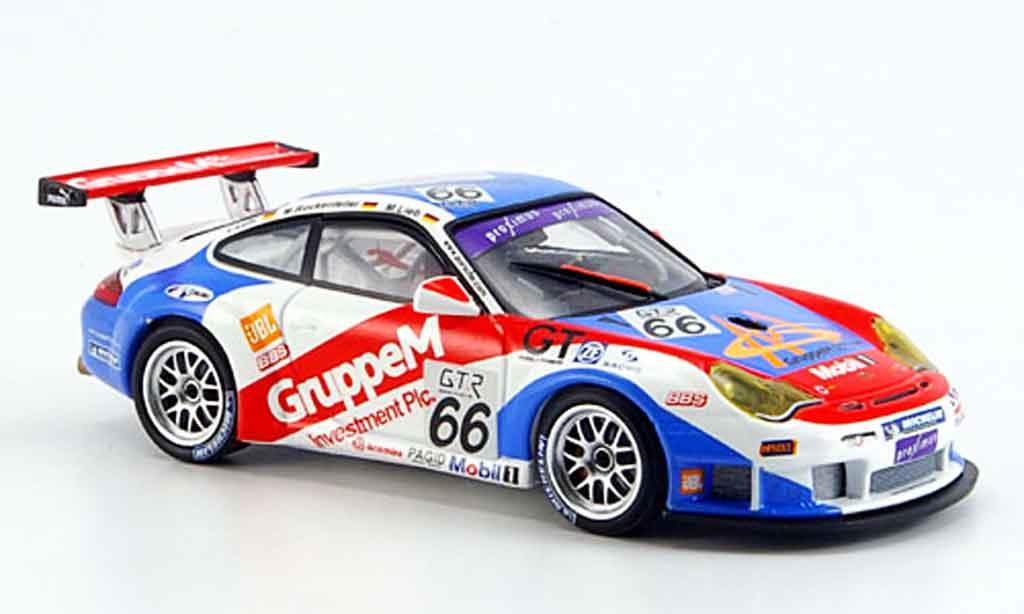 Porsche 996 GT3 Cup 1/43 Minichamps Lieb Rockenfeller Luhr 24h Spa 2005