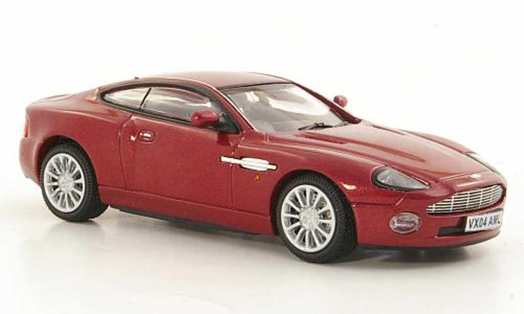 Aston Martin Vanquish 1/43 Vitesse rouge RHD miniature