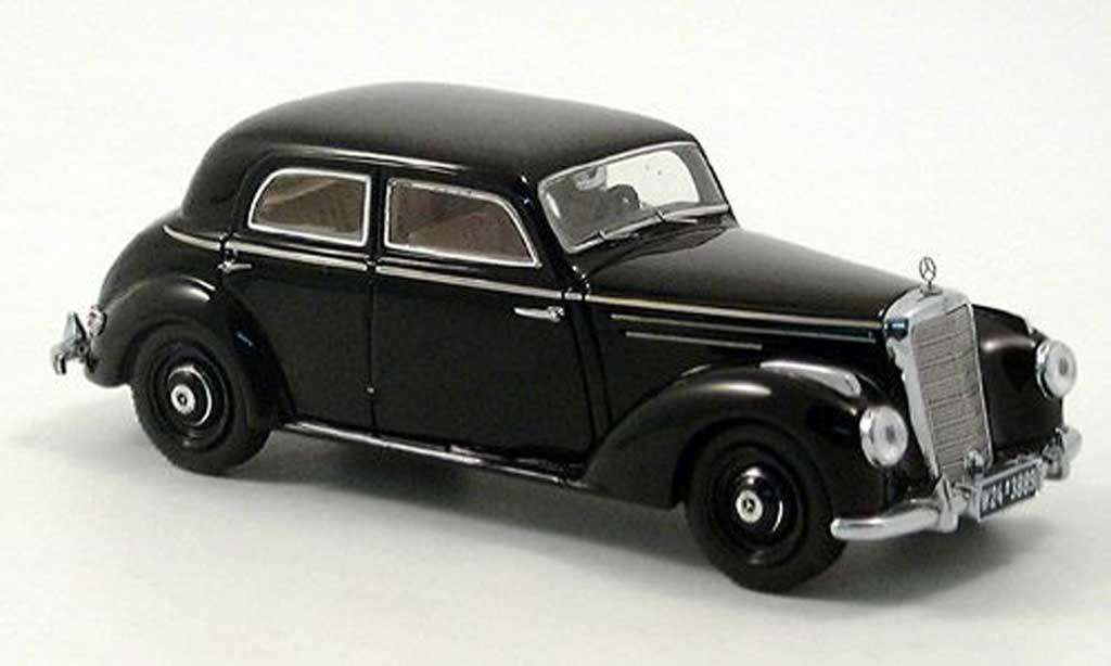 Mercedes 220 S 1/43 Spark Limousine (W187) noire 1951 miniature