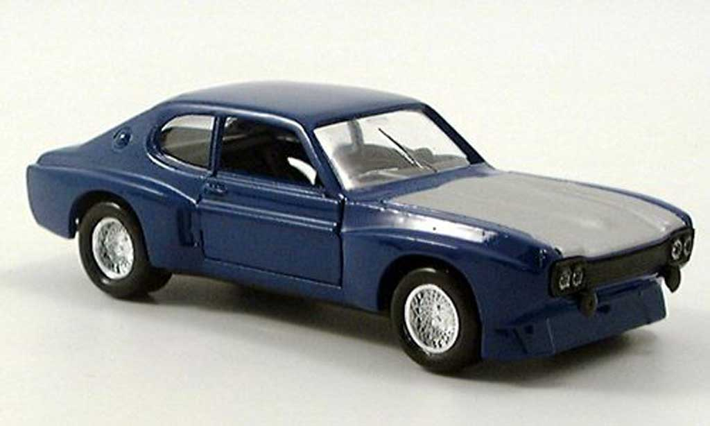 Ford Capri 1973 1/18 Solido MKI bleu miniature