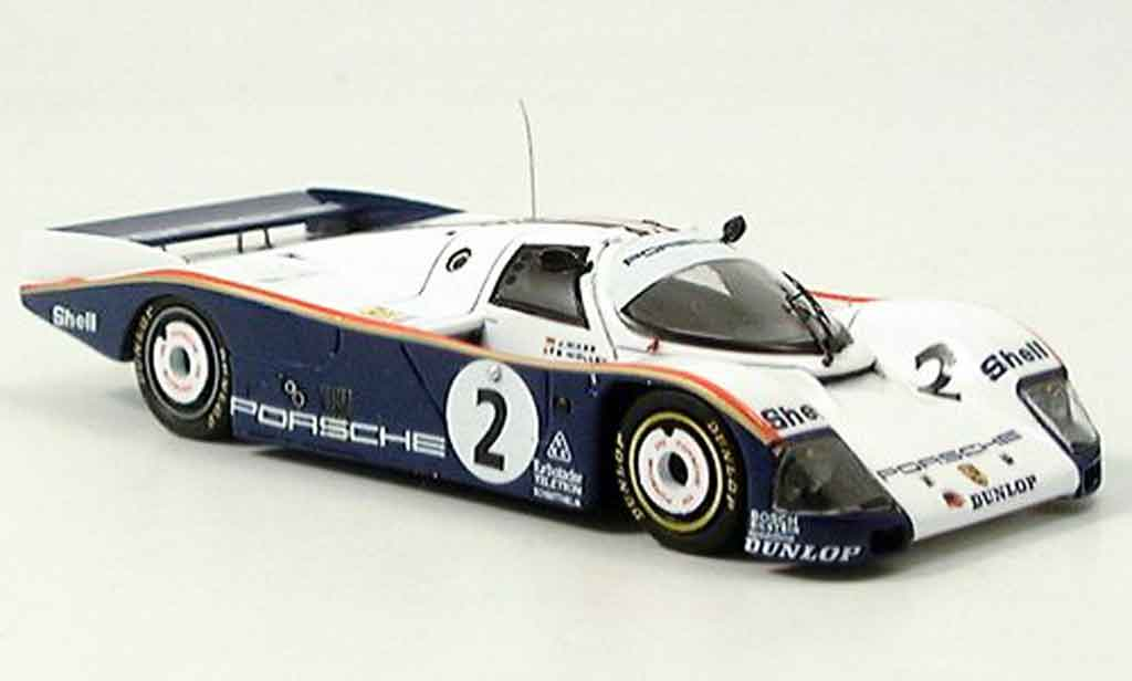 Porsche 962 1986 1/43 Spark No. 2 Le Mans diecast model cars