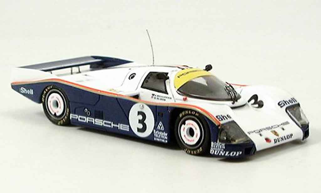 Porsche 962 1986 1/43 Spark No. 3 Le Mans diecast model cars