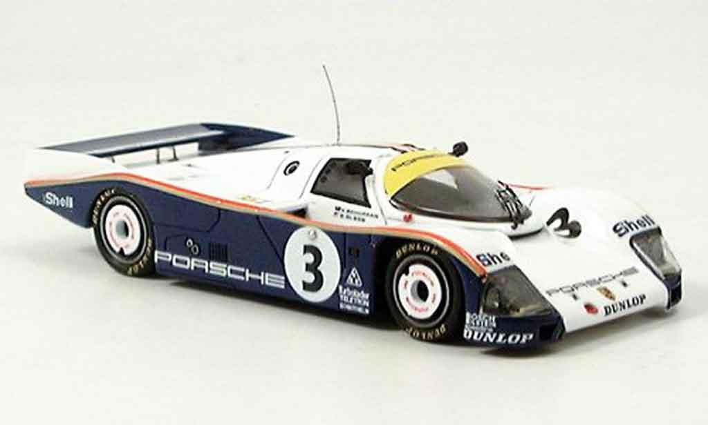 Porsche 962 1986 1/43 Spark No. 3 Le Mans miniature