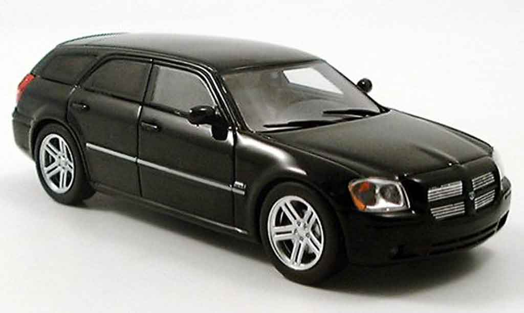 dodge magnum 2005 miniature magnum rt noire spark 1 43 voiture. Black Bedroom Furniture Sets. Home Design Ideas