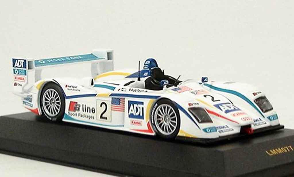 Audi R8 2005 1/43 IXO No. 2 3er Le Mans diecast