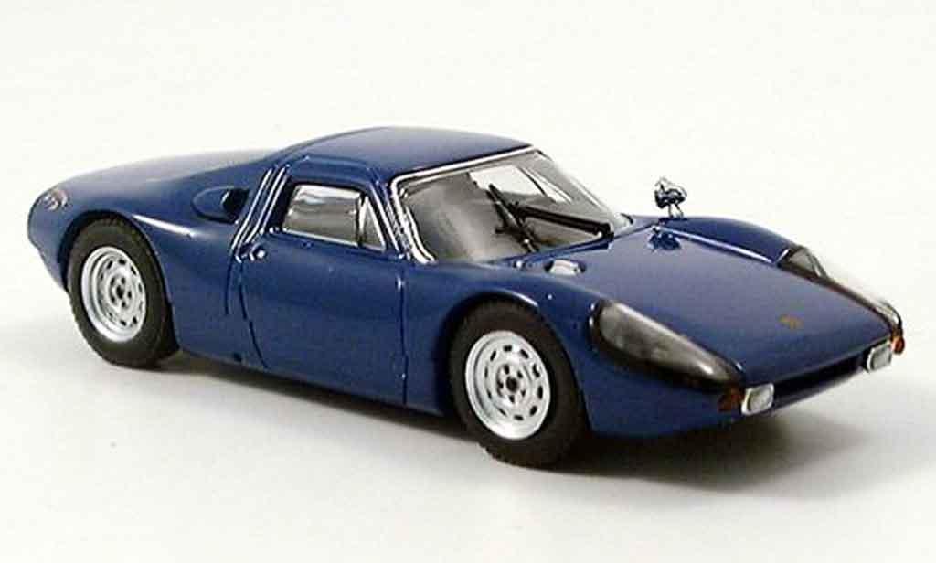 Porsche 904 1964 1/43 Ebbro GTS Roadcar bleu miniature