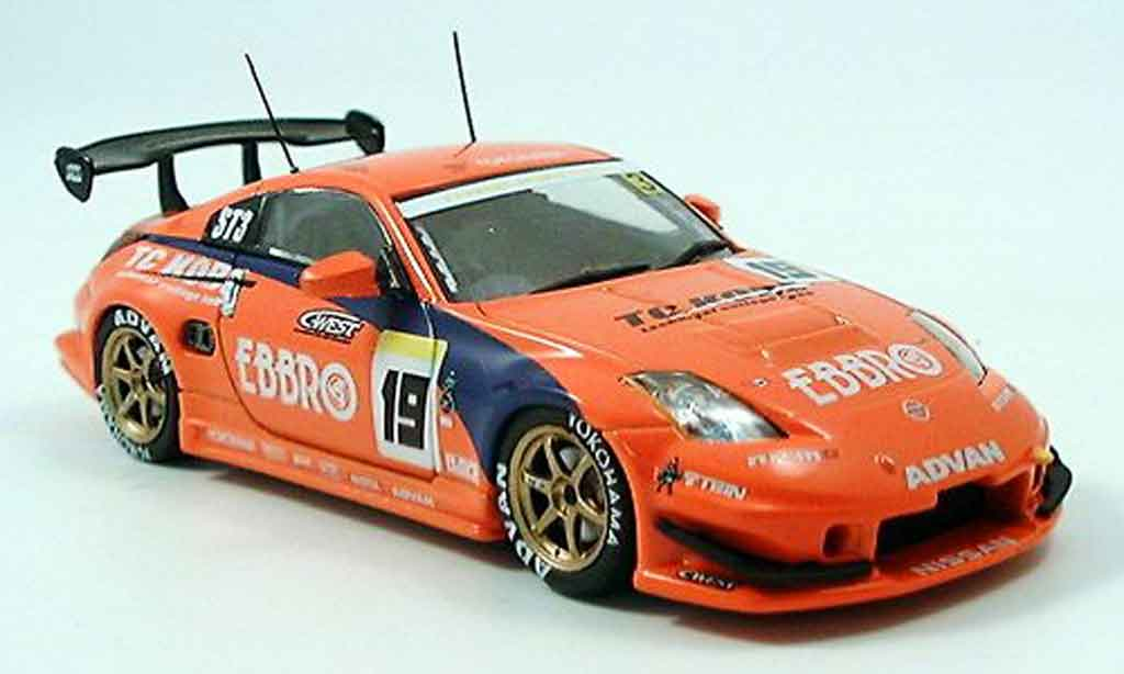 nissan 350z jgtc super taikyu rot 2005 ebbro modellauto 1 43 kaufen verkauf modellauto. Black Bedroom Furniture Sets. Home Design Ideas