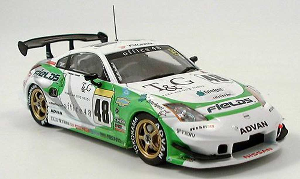 Nissan 350Z 1/43 Ebbro Super Taikyu Fields No. 5 2005 miniature