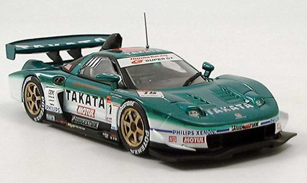 Honda NSX Super GT 1/43 Ebbro No. 18 Takata 2005 miniature