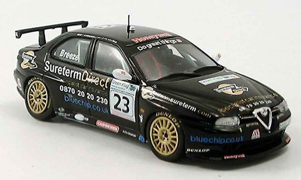 Alfa Romeo 156 GTA BTCC 1/43 Spark no.23 breeze 2004 miniature