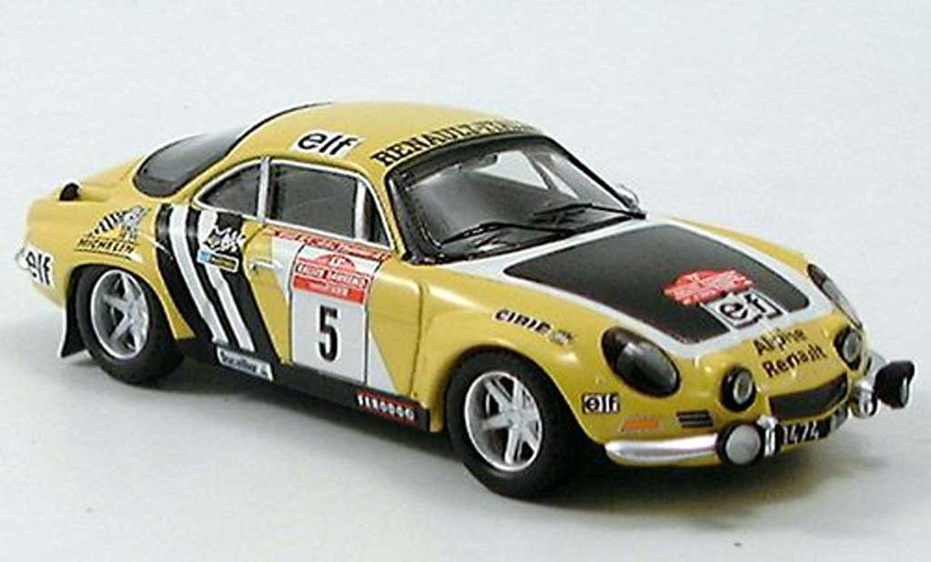 renault alpine a110 no 5 therier 1975 trofeu modellauto 1. Black Bedroom Furniture Sets. Home Design Ideas