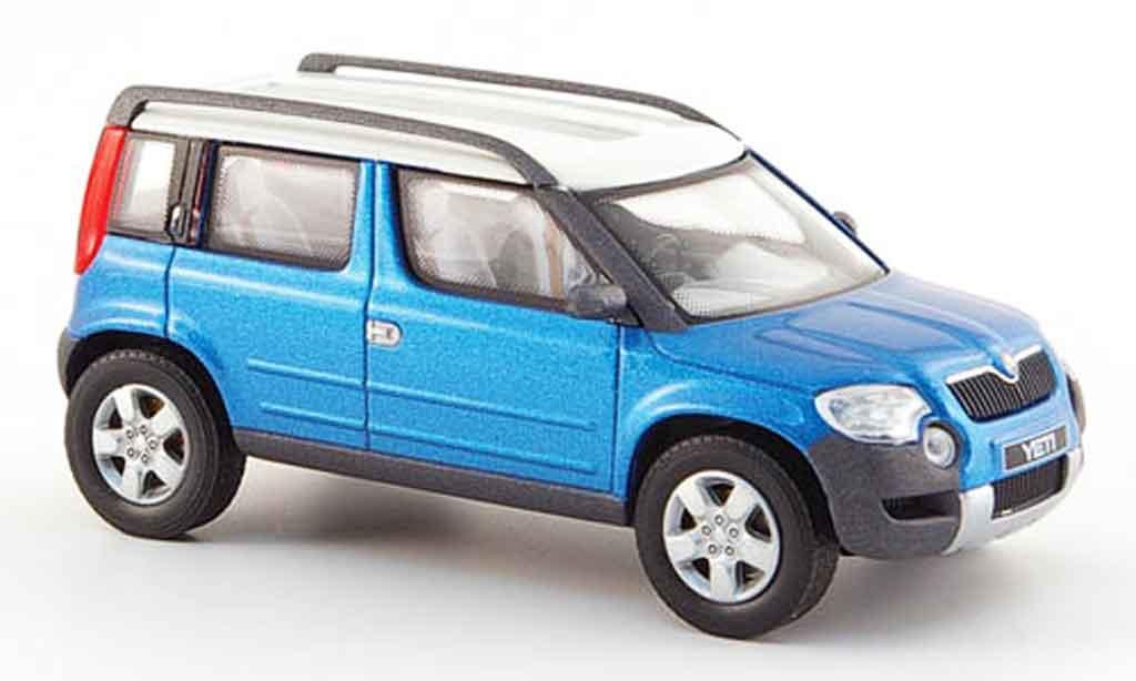 skoda yeti blau 2005 abrex modellauto 1 43 kaufen verkauf modellauto online. Black Bedroom Furniture Sets. Home Design Ideas
