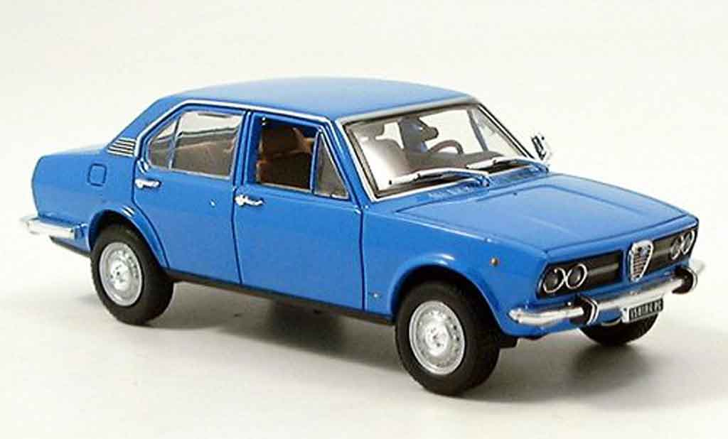 alfa romeo alfetta 1 8 blau 1972 norev modellauto 1 43. Black Bedroom Furniture Sets. Home Design Ideas