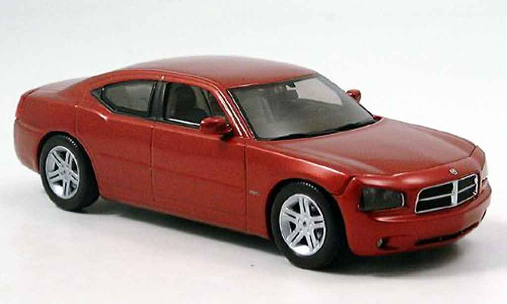 Dodge Charger 2006 1/43 Norev R T rouge miniature