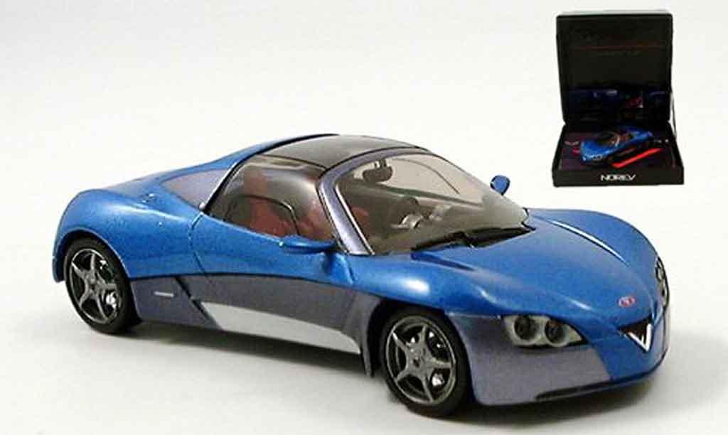 Venturi Fetish 1/43 Norev concept car bleu miniature