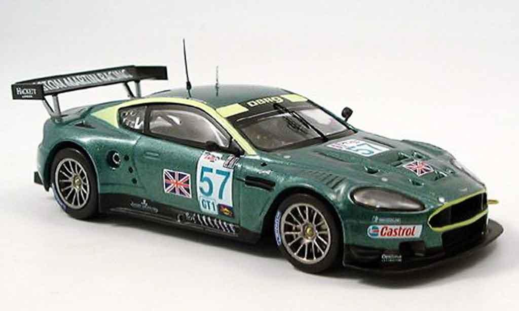Aston Martin DBR9 1/43 IXO no. 57 brabham sieger sebring 2005 miniature