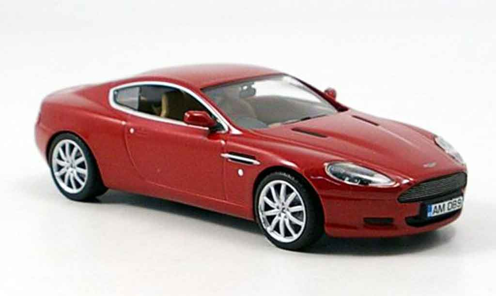 Aston Martin DB9 1/43 Minichamps rouge 2003 miniature