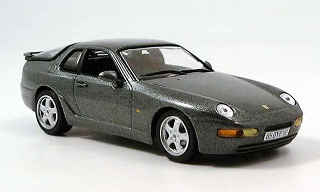 Porsche 968 CS 1/43 Minichamps grise 1993 miniature
