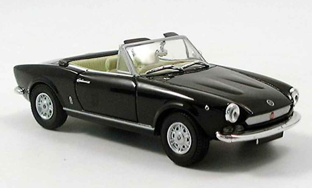 Fiat 124 1/43 Starline Spider noire miniature