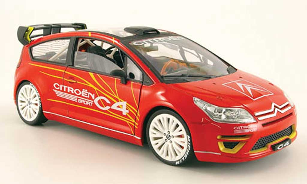 Citroen C4 WRC 1/18 Solido sport concept car diecast model cars
