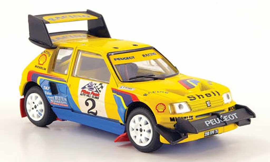 Peugeot 205 Turbo 16 1/43 Solido Rallye Pikes Peak 1987 T16 miniature