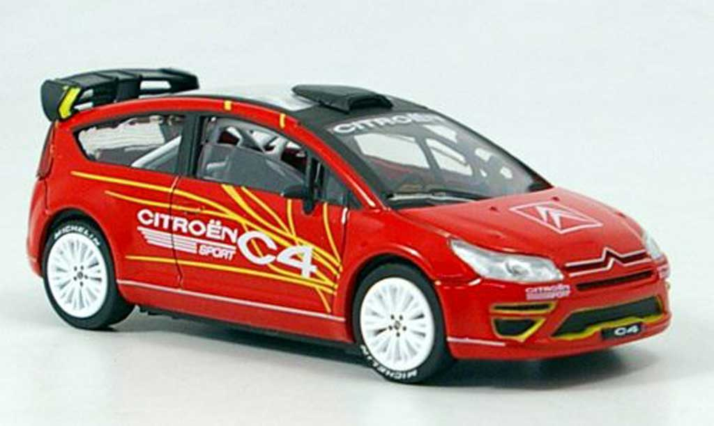 Citroen C4 1/43 Solido WRC Sport Concept Car diecast model cars