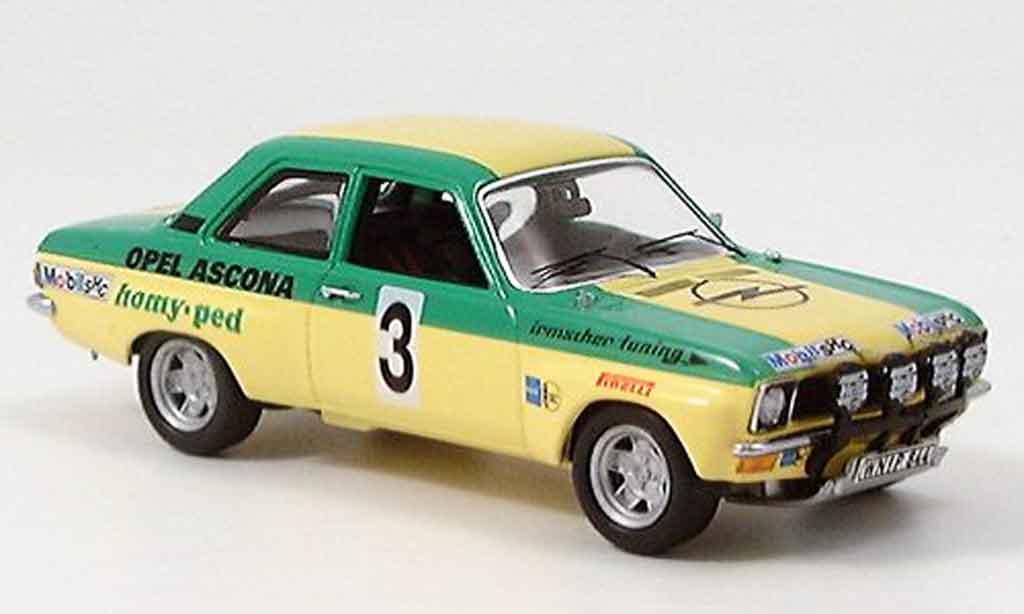 Opel Ascona A 1/43 Schuco rallye irmscher 1973 miniature