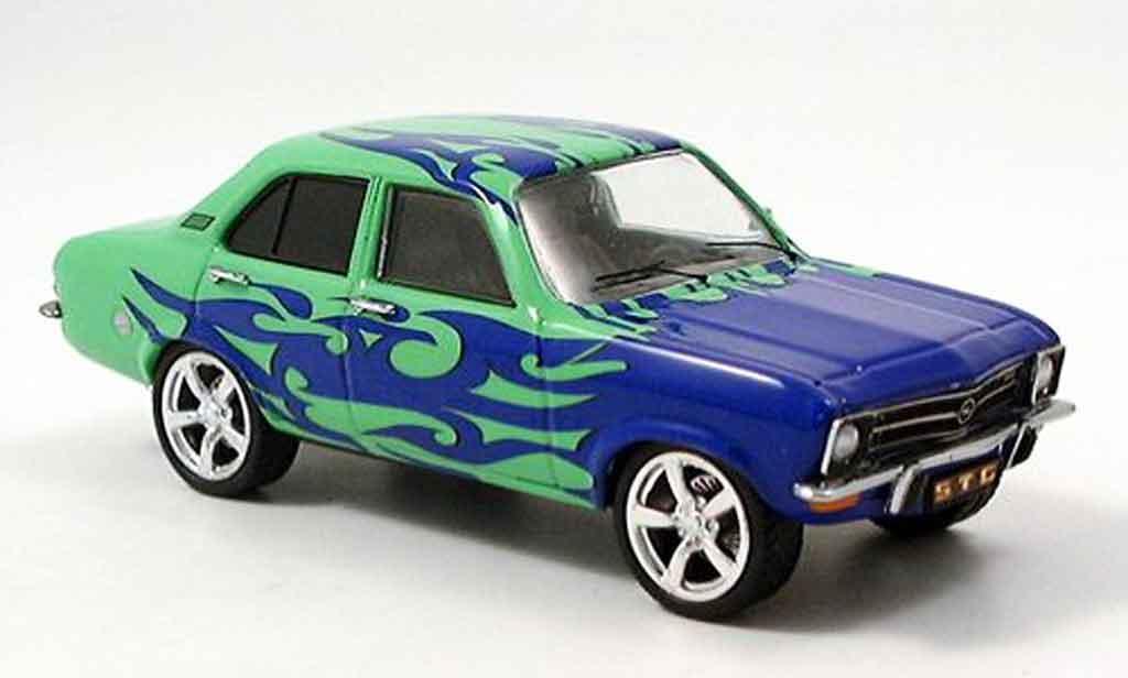 Opel Ascona A 1/43 Schuco tuning miniature