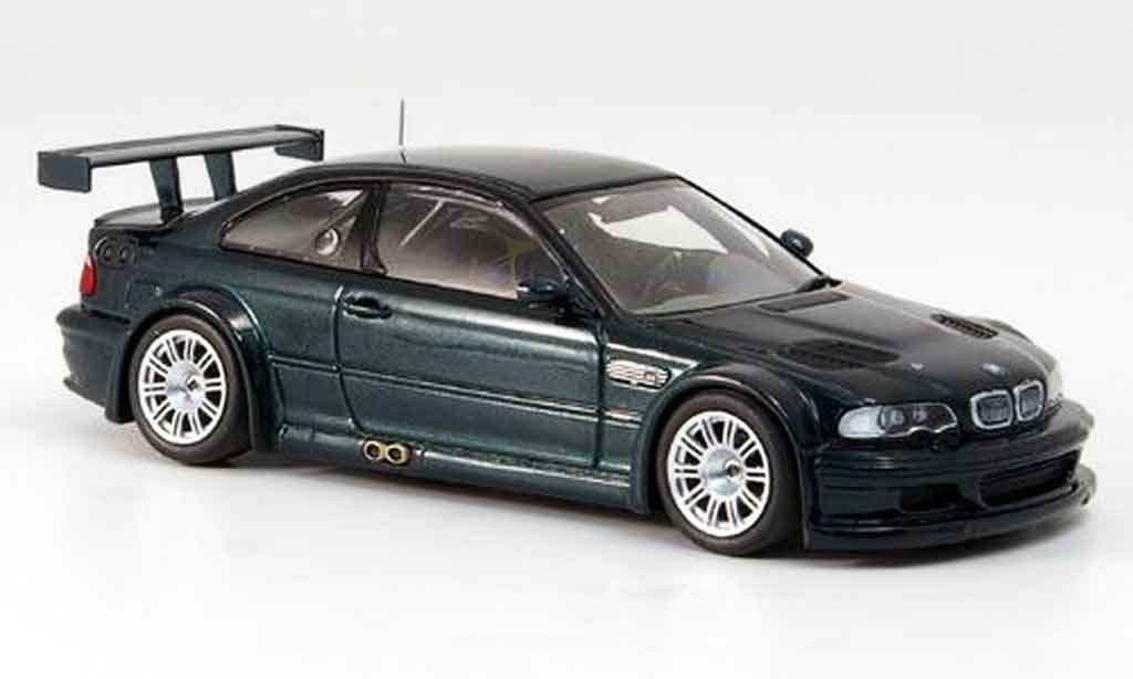 Bmw M3 E46 Gtr Green Strassenausfuhrung 2001 Minichamps Diecast Model Car 1 43 Buy Sell