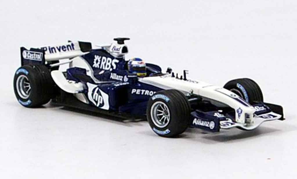 Bmw F1 2005 1/43 Minichamps Williams FW 27 N.Rosberg miniature