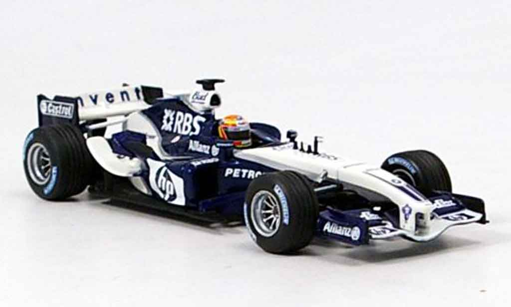 Bmw F1 2005 1/43 Minichamps Williams FW 27 A.Pizzonia miniature