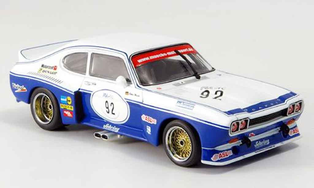 Ford Capri 3100 1/43 Minichamps  No.92 P. Mucke Sieger Zolder 2005 miniature