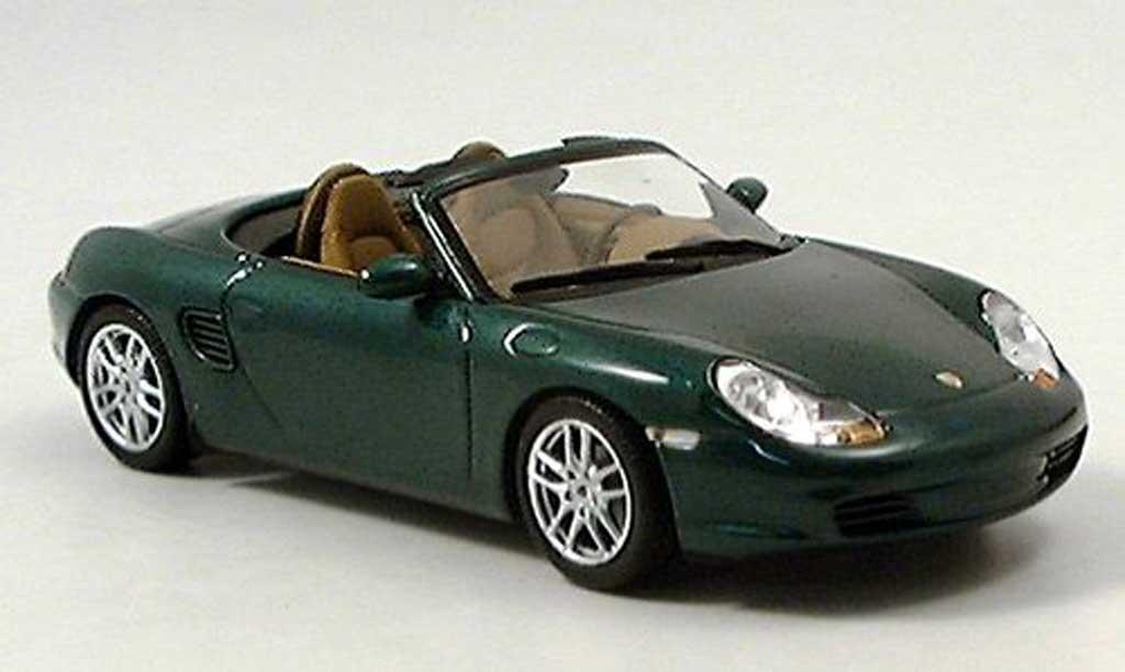 Porsche Boxster 1/43 Minichamps grun 2002 miniature