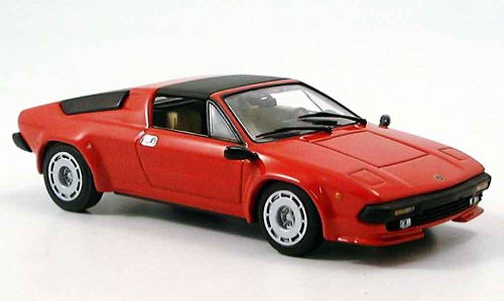 Lamborghini Jalpa 1/43 Minichamps rouge 1981 miniature