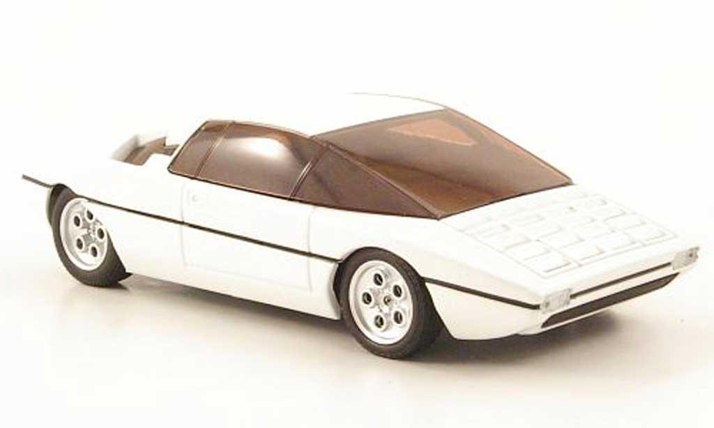 Lamborghini Bravo 1/43 Minichamps blanche 1974 miniature