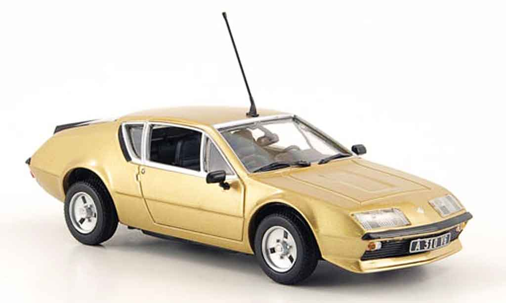 renault alpine a310 kupfer 1976 minichamps modellauto 1 43. Black Bedroom Furniture Sets. Home Design Ideas