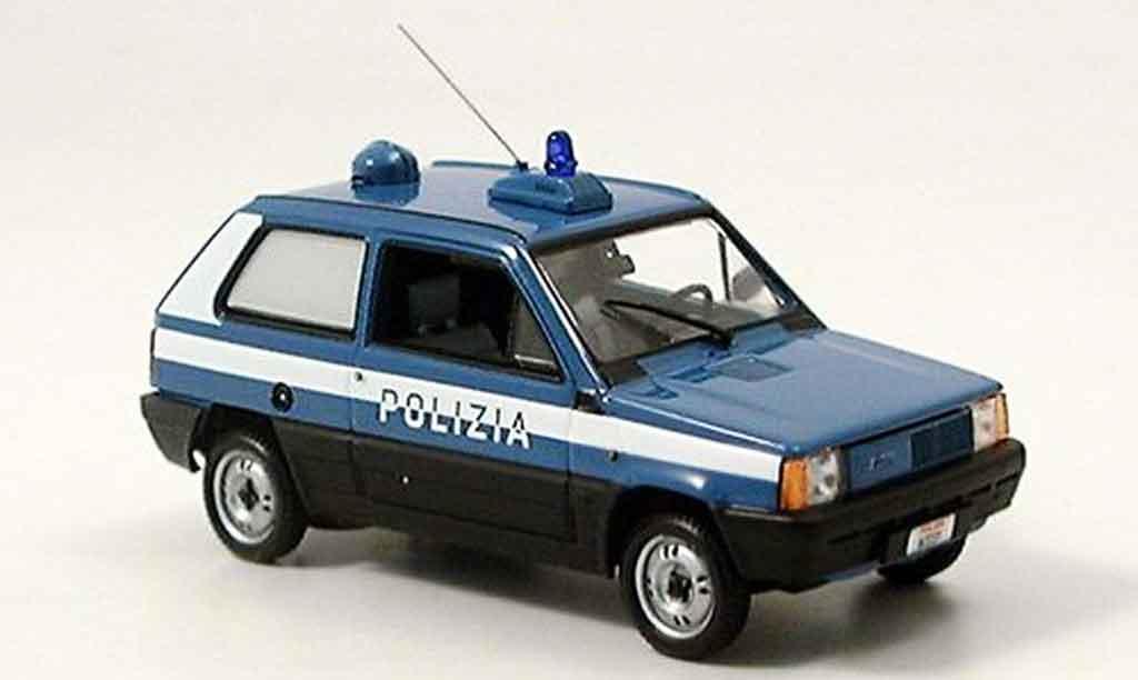 Fiat Panda 1/43 Minichamps italienische police