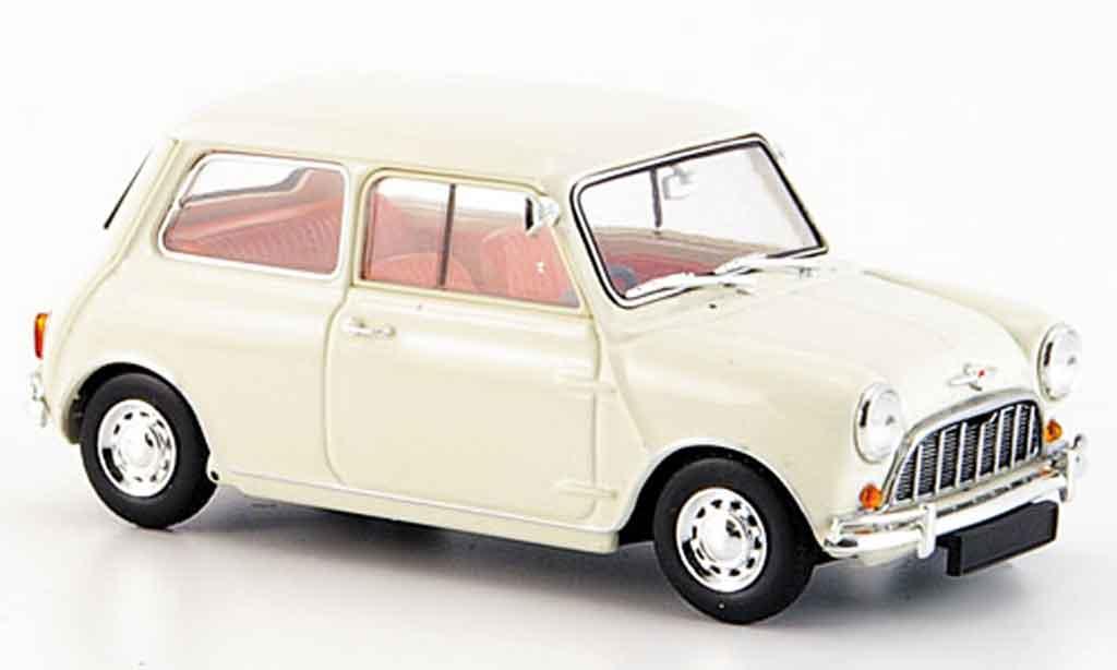 Austin Mini Cooper 1/43 Minichamps blanche 1960 miniature