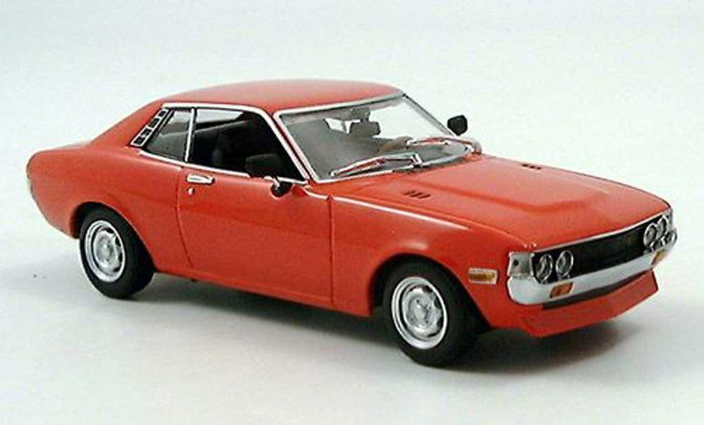 Toyota Celica 1975 Red Minichamps Diecast Model Car 1 43
