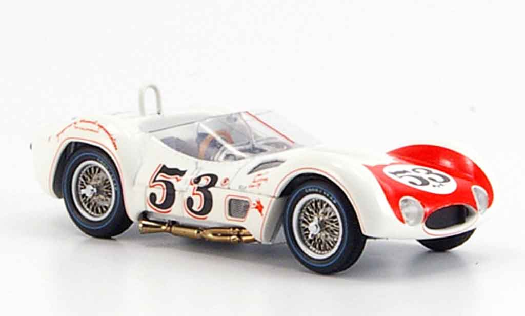 Maserati Tipo 1/43 Minichamps 61 krause sieger riverside 1960 miniature