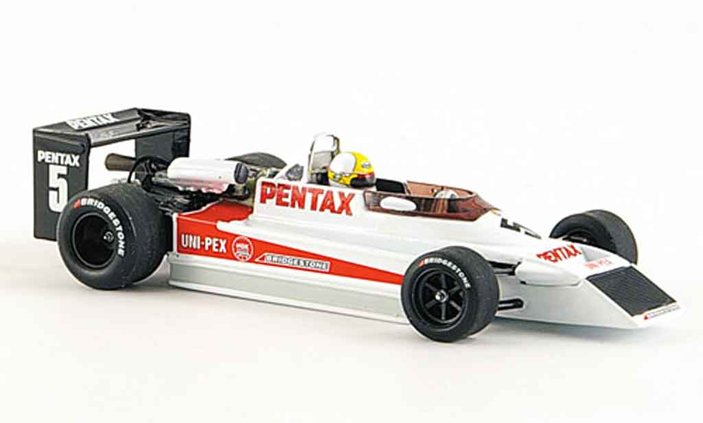 Bmw F1 1979 1/43 Minichamps March 792 Koshino  miniature